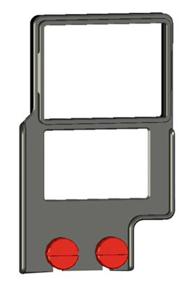 """Picture of Z-Finder 3"""" Mounting Frame for Small DSLR Bodies with Battery Grips"""