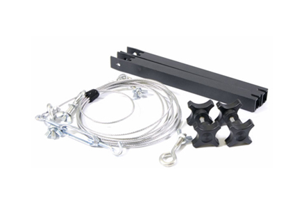 Picture of 8ft Crane Cable Kit (includes 8ft crane cable, 2 cable upright supports and tooless knobs)
